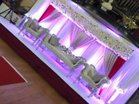 Asian Wedding Stages, Mendhi Stage, Centre Pieces, Events Management, wedding decoration birmingham