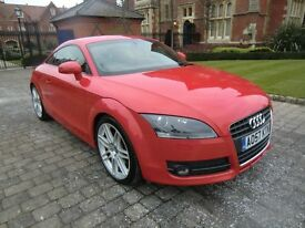 Audi TT 2.0 Red, FASH, SatNav, BOSE, Leather, Original and Immaculate, Every Possible Extra Fitted