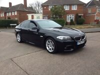 Bmw 520d M-Sport auto twin turbo 2012/62 low miles FSH/6Stamps/wide SAT-NAV £12495