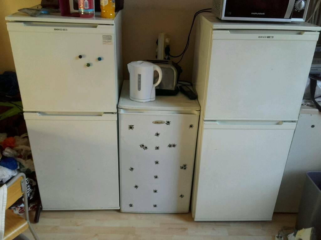 2 Beko Fridge Freezers