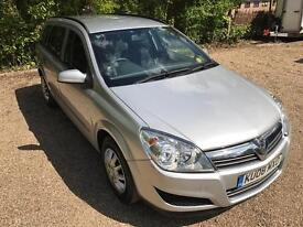 Vauxhall Astra Life Estate 1.6 08 Reg Low Mileage Silver