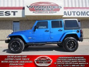 2014 Jeep Wrangler UNLIMITED SAHARA, LIFT, NAV, COLD AIR AND MOR