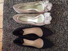 Shoes- two sets for wedding or night out