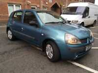 2005 CLIO 1.2 RUSH.. 12 MONTHS MOT.. 91k GREAT FIRST TIME CAR!!