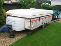 rapido folding caravan