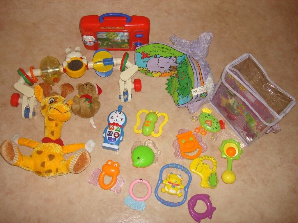baby toys- the whole lot- 10 pounds
