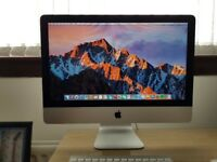 iMac 21.5inch 2.7ghz intel core i5, 8gb Ram