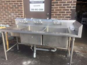 Heavy Duty Stainless Steel Commercial Sinks
