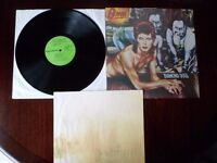 DAVID BOWIE - DIAMOND DOGS VINYL LP RECORD