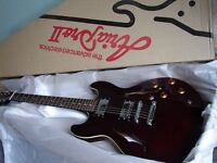 80s Aria Pro II Titan Artist Semi-Acoustic Electric Guitar...