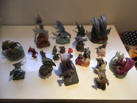 30 Dragon figurine/ statues