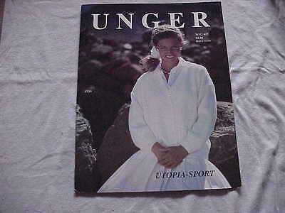 Винтажные Vintage Unger Knitted Sweater &