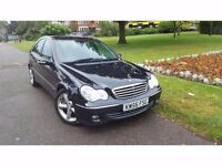 Mercedes-Benz C Class 2.1 C220 CDI Avantgarde SE 4dr LONG MOT+ABS+E/W+A/W+C/L