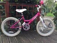 Dawes Lottie girls bike pink age 6-8