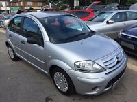 2009/59 CITROEN C3 1.4 i 8v VTR 5DOOR,SILVER, GREAT CONDITION, LOVELY SPEC AND ONLY 42,000 MILES