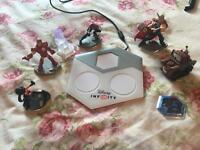 Disney infinity characters, mat and missions NO GAME