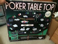 Poker top table