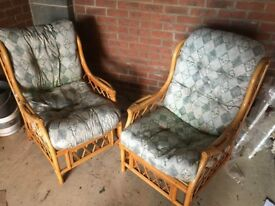 2 x Conservatory Chairs - excellent condition