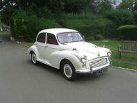 1966 Morris Minor 1000 Delux 4 door model