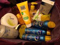 Mixed Bundle of Toiletries / Bath Body / Moisturiser Ladies MOSTLY NEW / see desc