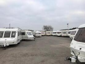 Swift abbey elddis abi Avondale coachman lunar hobby caravan Saturday sale
