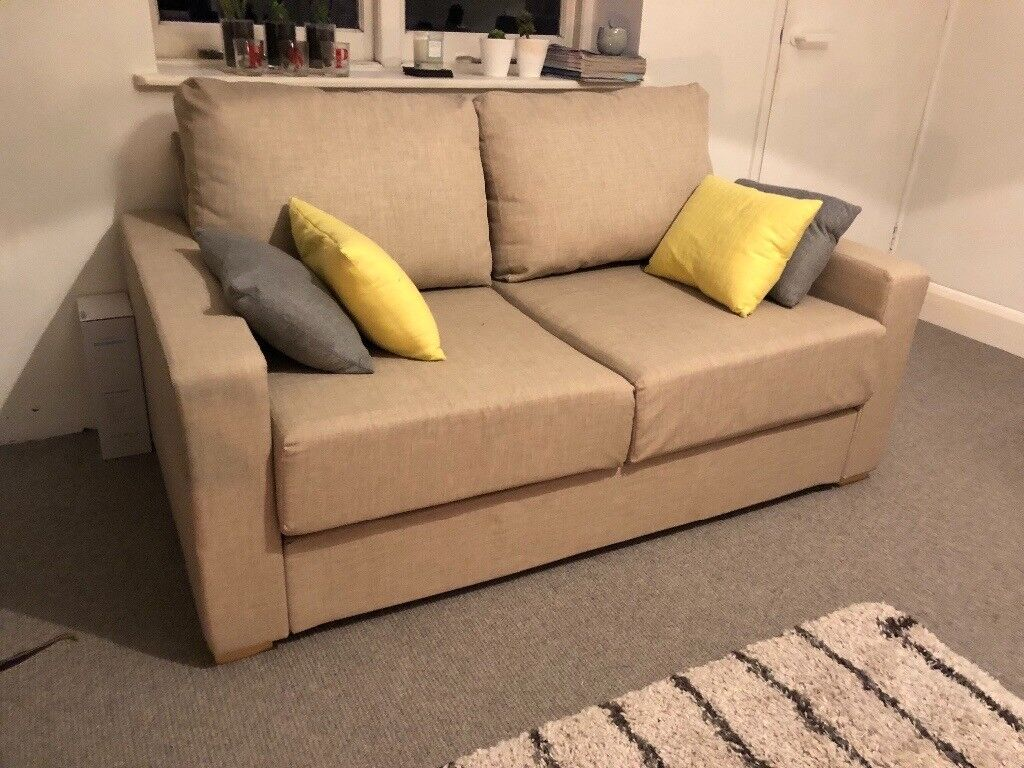 2 Seater Flat Pack Sofa Bed