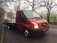 VERY CLEAN TIDY FORD TRANSIT RECOVERY TRUCK READY FOR WORK LOOK