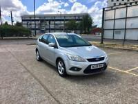 2008 FORD FOCUS 1.6 AUTOMATIC ZETEC –LOW MILEAGE, FSH, PETROL, LONG MOT, SILVER, 5 DOORS, CHEAP CARS