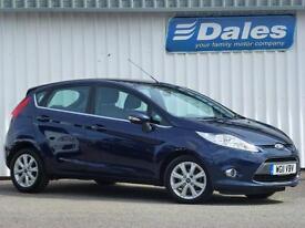 Ford Fiesta Zetec 1.4 - 5 Door Petrol (blue) 2011