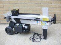 Brand New 5 ton 370mm hydraulic electric Log Splitter - wood timber tractor chainsaw cone chipper
