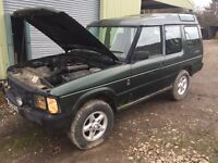 Landrover discovery 200 tdi run/drives spares repairs