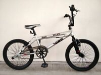 "FREE Bell with (2685) 20"" Aluminium VIBE TITAN BMX 360 GYRO BIKE BICYCLE; Age: 8-13, 130-160 cm"