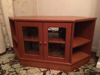 Cute wooden tv unit