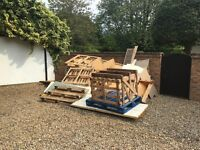 Free- large amount of assorted wood
