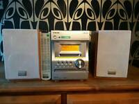 Sony Stereo with CD, MD and Tape Deck