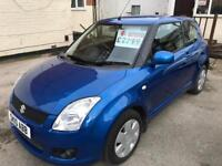 SUZUKI SWIFT 1.3 SZ3 ONLY 1 FORMER KEEPER SERVICE HISTORY LOTS OF INVOICES H.P.I CLEAR 1 YEARS MOT