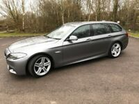 BMW 5 Series 2.0 520d M Sport Touring (16 MONTH WARRANTY REMAINING !!)