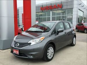 2016 Nissan Versa Note SV, backup camera, cargo organizer