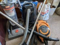 3 x Vacuum Cleaners inc Miele