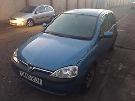 Vauxhall Corsa 1.2 for Spares And Parts