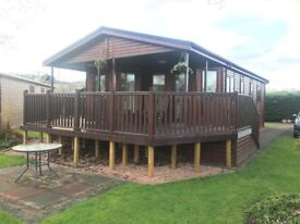 Exceptional two bedroom/two bathroom fully furnished lodge for sale in beautiful Perthshire.