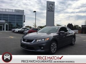 2015 Honda Accord Coupe EX-L With Navi LOW  KM leather