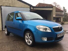 2008 Skoda Roomster 3 Automatic, 1.6 petrol, 62000 miles, one previous owner