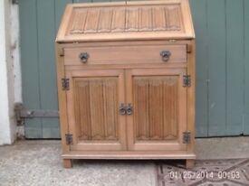 Old Charm Light Oak Bureau/Storage Unit