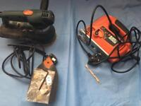 jigsaw and sander tools