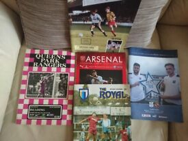 Football programmes - great condition