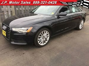 2014 Audi A6 3.0T Technik, Automatic, Navigation, Leather, Sunr