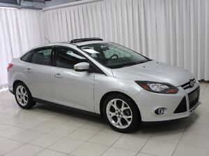 2013 Ford Focus TITANIUM SEDAN. HIGH TRIM PACKAGE WITH LOW KILOM