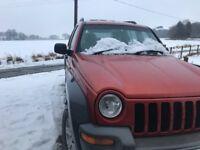 Jeep Cherokee sport lots spent