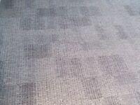 NEW Milliken Consequence Carpet Tiles Built In Underlay Dark Light Grey £2.50 Per Tile 530 Available